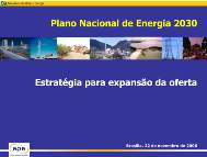 The National Energy Plan Through 2030