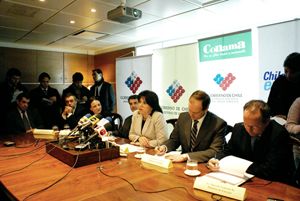 Joint press conference announcing SEIA reforms