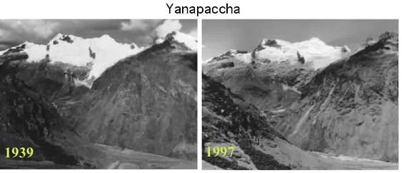The Retreat of Yanapaccha Glacier