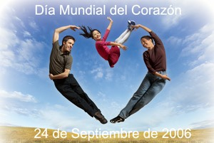 World Heart Day logo (Spanish)