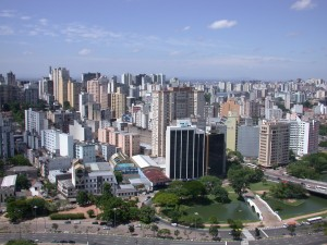Porto Alegre skyline / Photo: Eurivan Barbosa, via Wikipedia