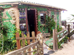 A House Made with PET Bottles