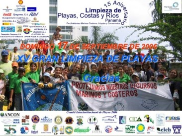Invitation to Participation in Clean-up in Panama