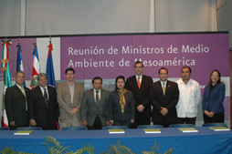 the Mesoamerican Environment Ministers