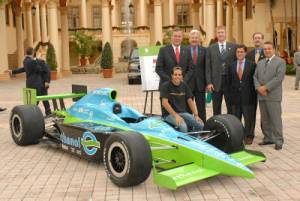 IndyCar powered by ethanol at IEC Launch