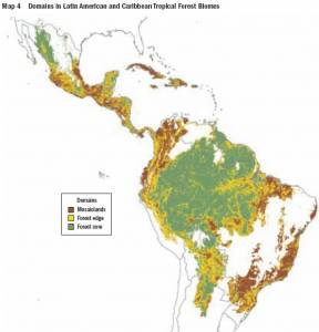 The 3 Basic Types of LAC Tropical Forest (click to enlarge)